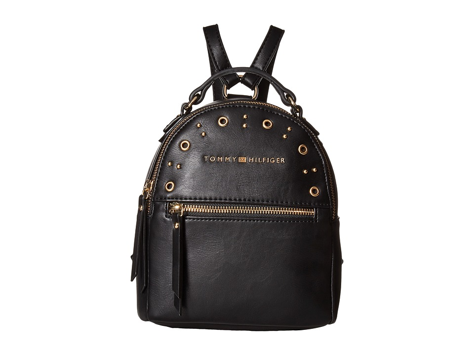 Tommy Hilfiger - Aileen Mini Backpack (Black) Backpack Bags