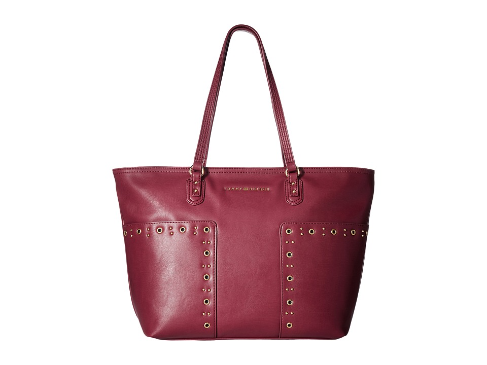 Tommy Hilfiger - Aileen Tote (Merlot) Tote Handbags