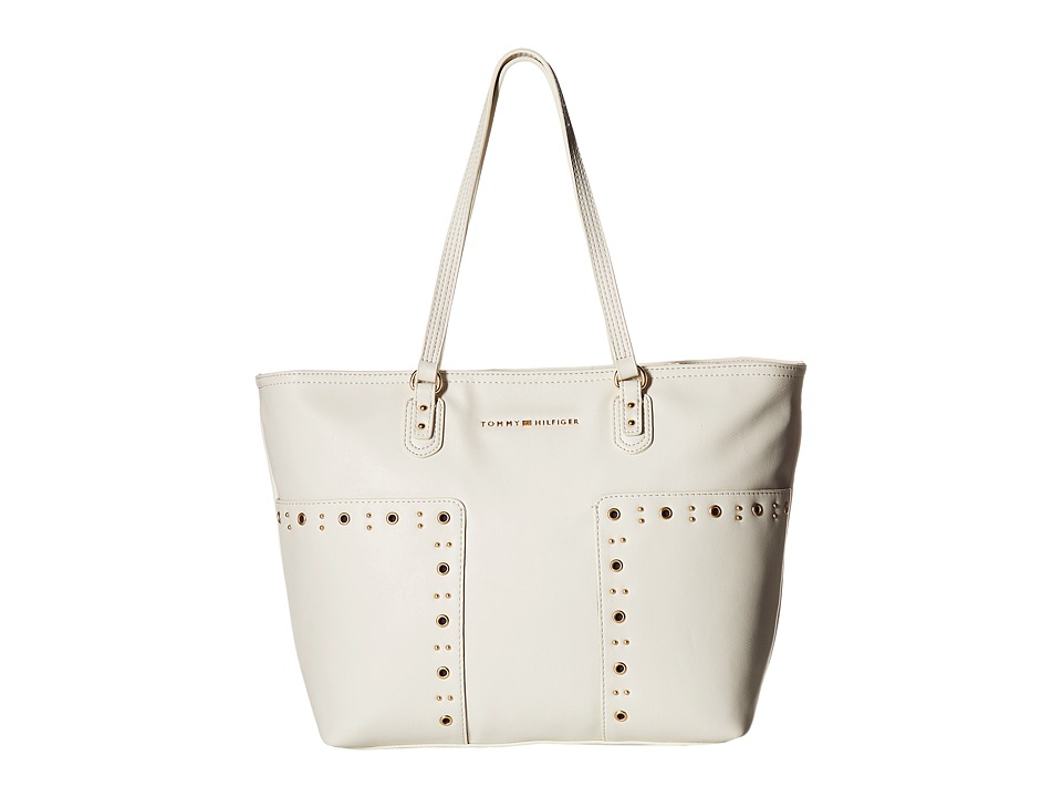 Tommy Hilfiger - Aileen Tote (Dove) Tote Handbags