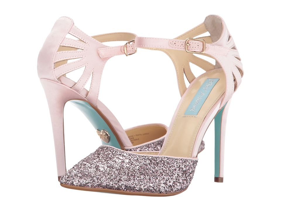 Blue by Betsey Johnson - Avery (Blush Satin) High Heels