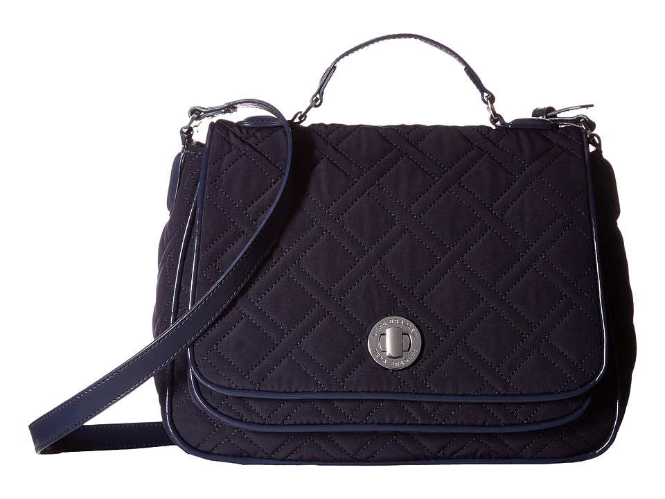 Vera Bradley - Turnlock Crossbody (Classic Navy) Cross Body Handbags