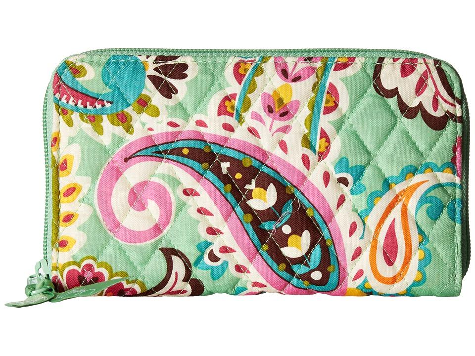 Vera Bradley - Accordion Wallet (Tutti Frutti) Wallet Handbags