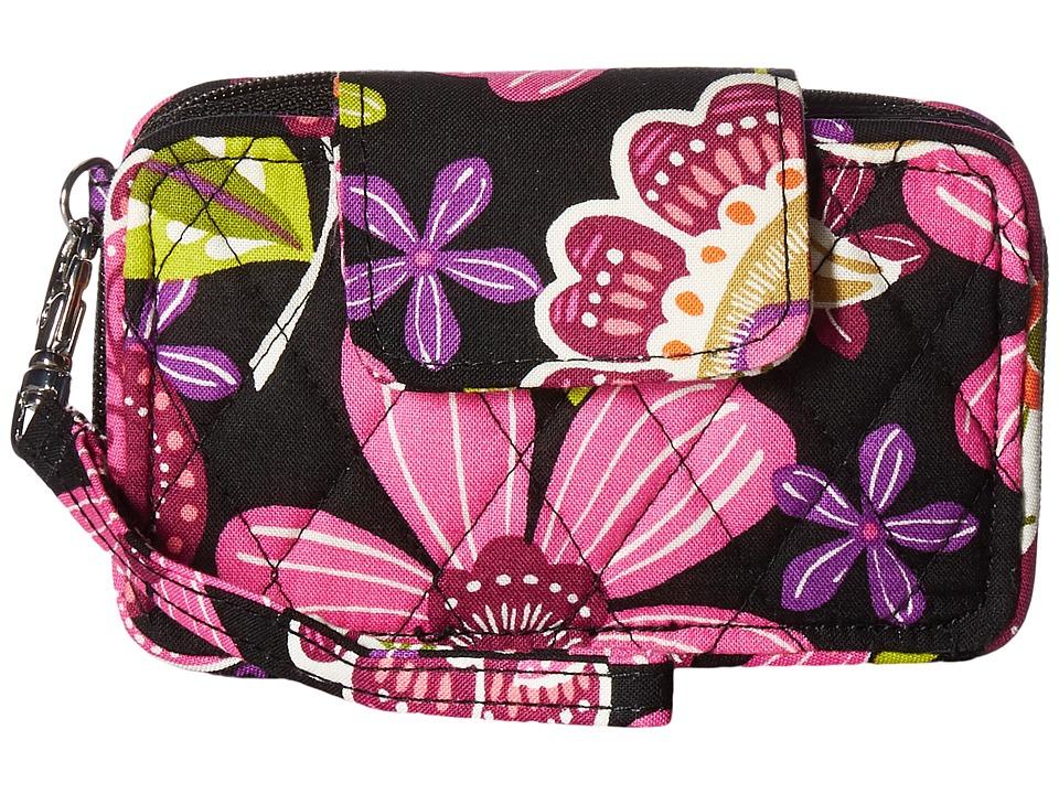 Vera Bradley - Smartphone Wristlet (Pirouette Pink) Wristlet Handbags