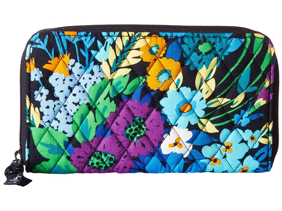 Vera Bradley - Accordion Wallet (Midnight Blues) Wallet Handbags