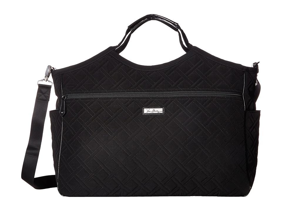 Vera Bradley - Carryall Travel Bag (Classic Black) Handbags
