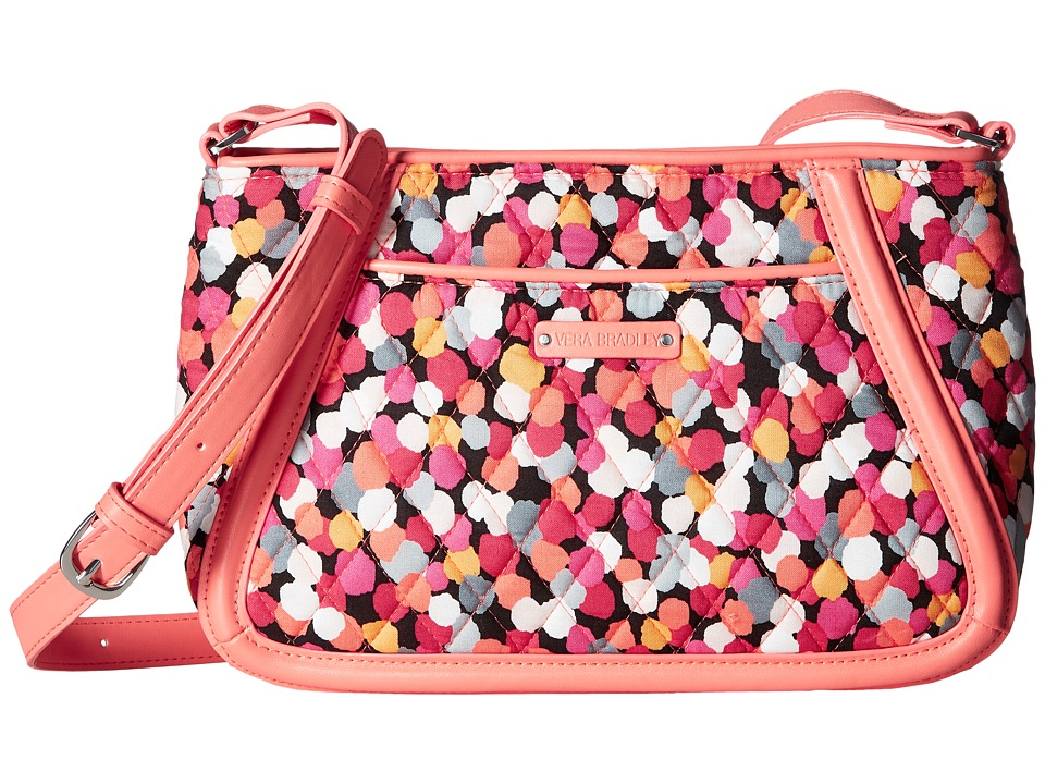 Vera Bradley - Trimmed Trapeze Crossbody (Pixie Confetti) Cross Body Handbags