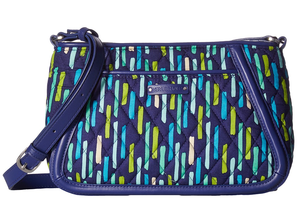 Vera Bradley - Trimmed Trapeze Crossbody (Katalina Showers) Cross Body Handbags