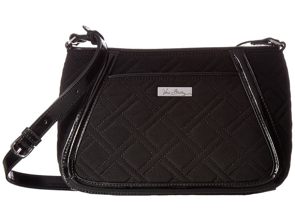 Vera Bradley - Trimmed Trapeze Crossbody (Classic Black) Cross Body Handbags