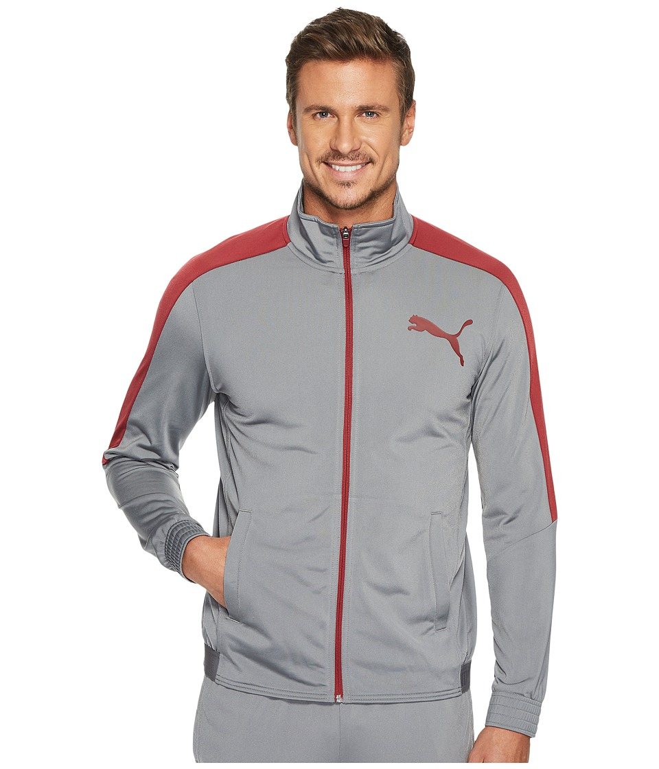 PUMA - Contrast Jacket (Puma Black/Puma White) Men's Coat