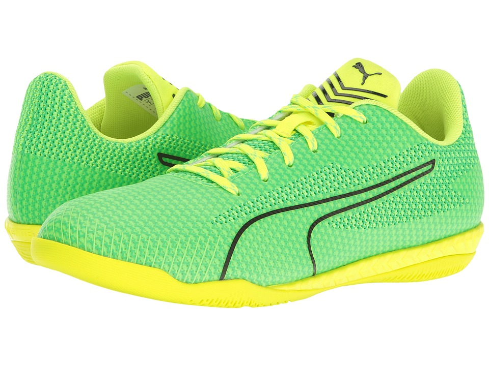 PUMA - 365 Ignite CT (Green Gecko/Puma Black/Andean Toucan/Safety Yellow) Men's Shoes
