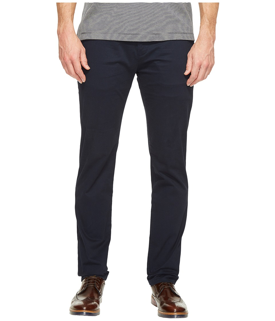 Ted Baker - Exmoor Printed Chino Trousers (Navy) Men's Casual Pants