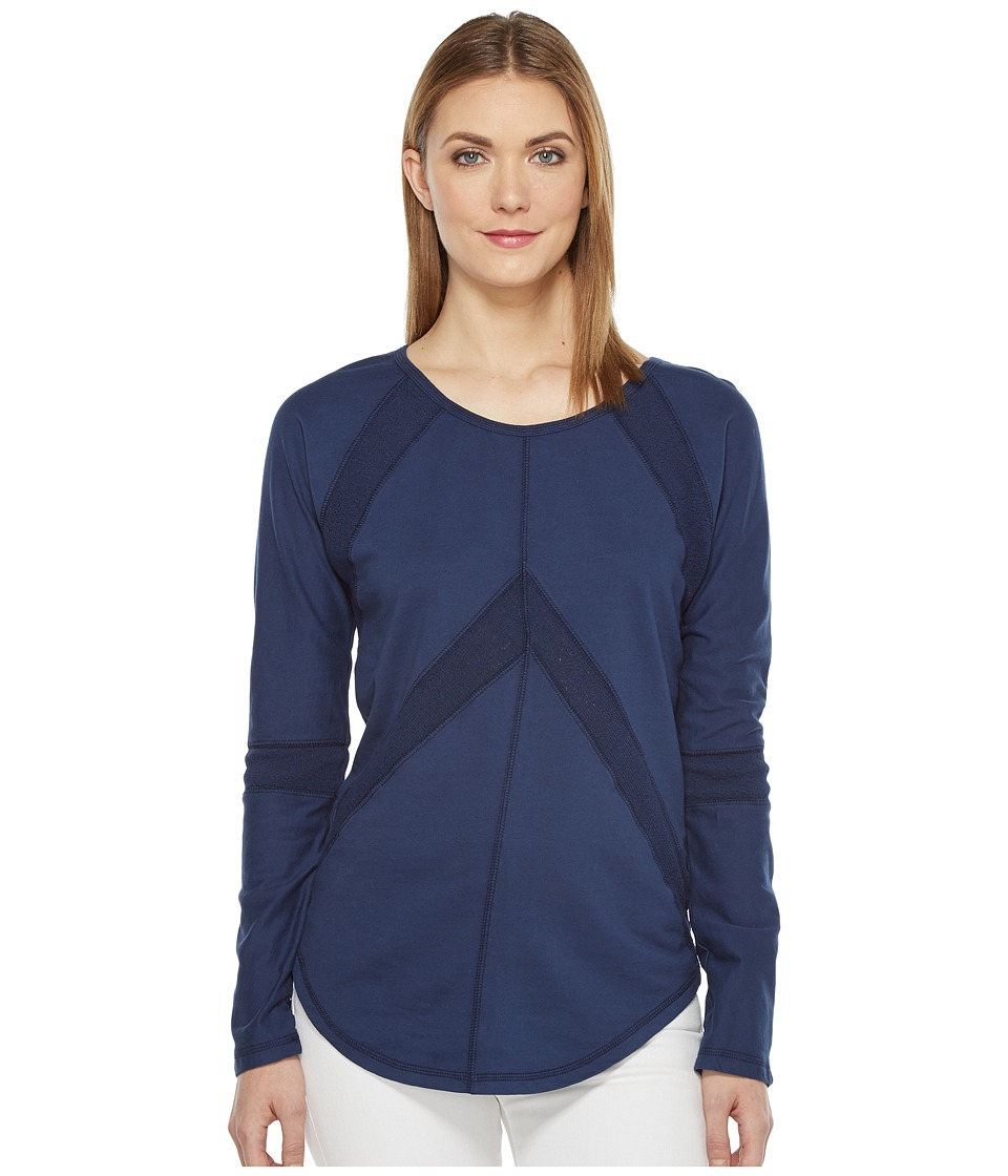 Mod-o-doc - French Terry Pullover (New Navy) Women's Clothing