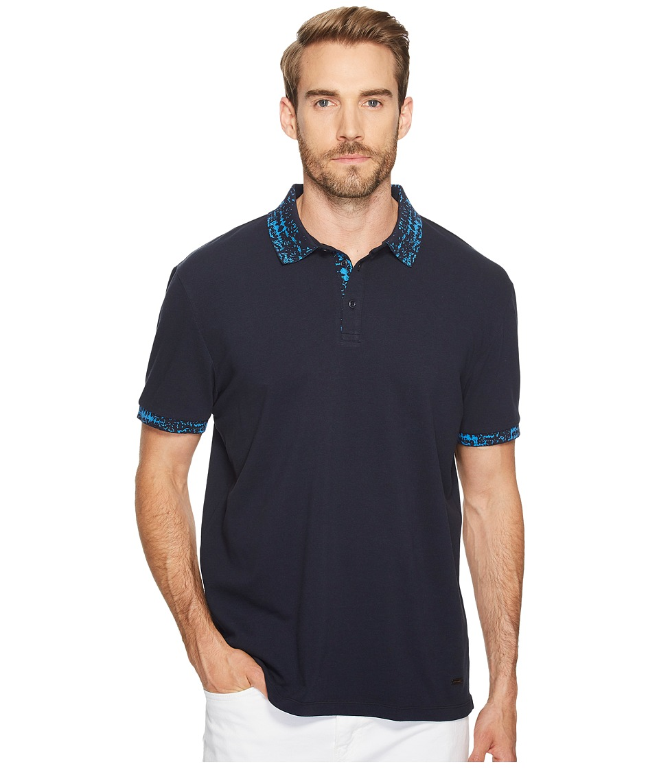 BOSS Orange - Prior Polo Shirt (Navy) Men's Clothing