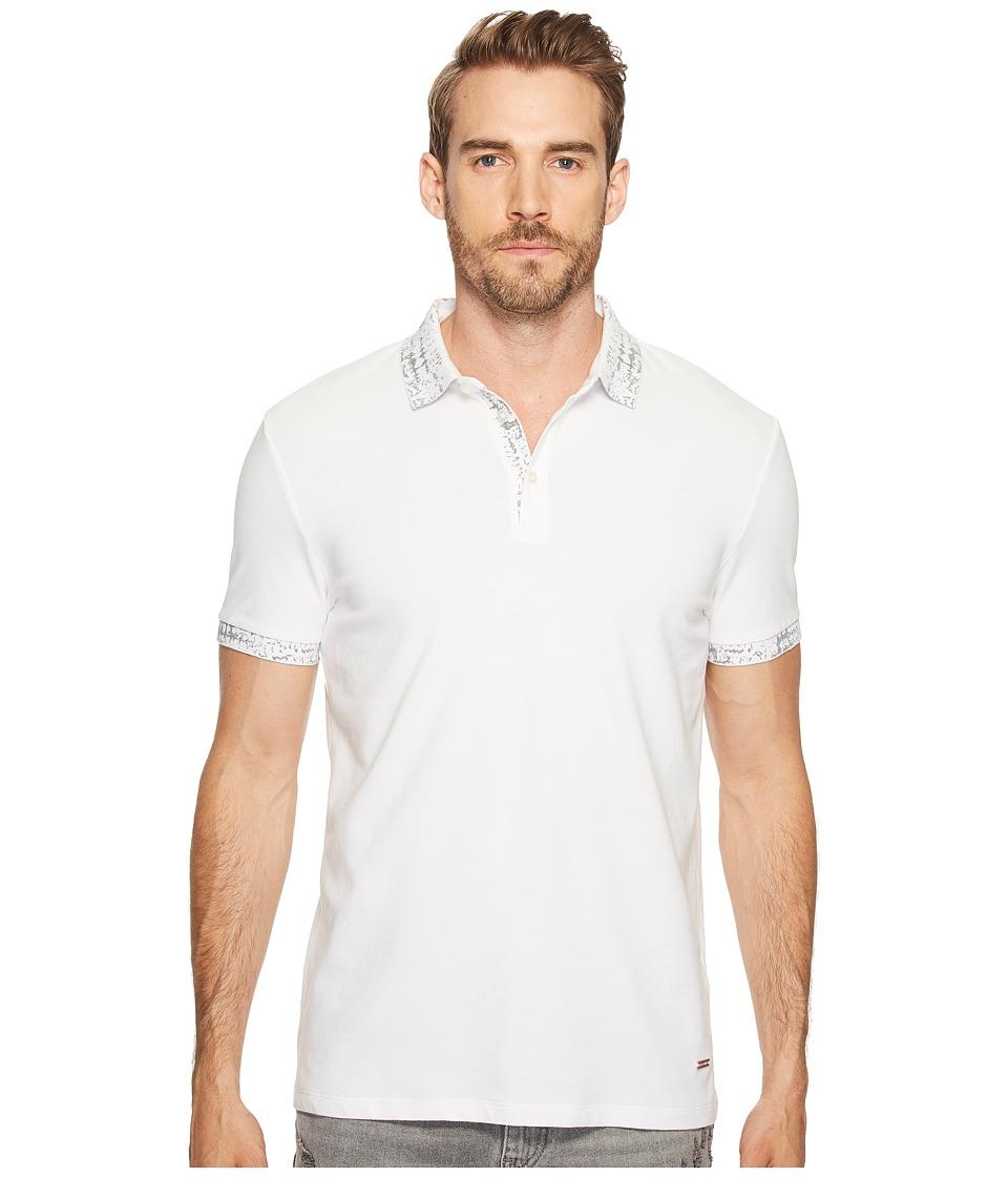 BOSS Orange - Prior Polo Shirt (Black) Men's Clothing