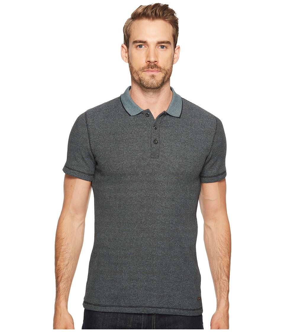 BOSS Orange - Poser Polo Shirt (Black) Men's Clothing