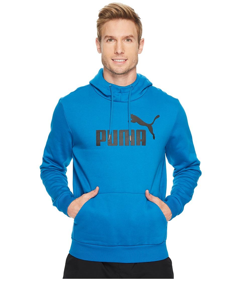 PUMA - Essentials No. 1 Hoodie FL (Mykonos Blue) Men's Sweatshirt