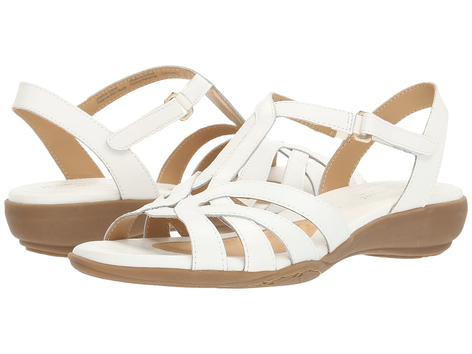 Naturalizer - Canary (White Leather) Women's Shoes