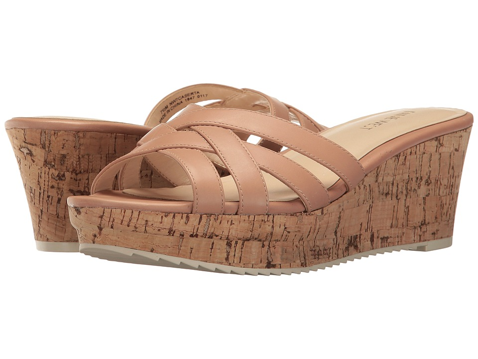 Nine West - Caserta (Natural Leather) Women's Wedge Shoes