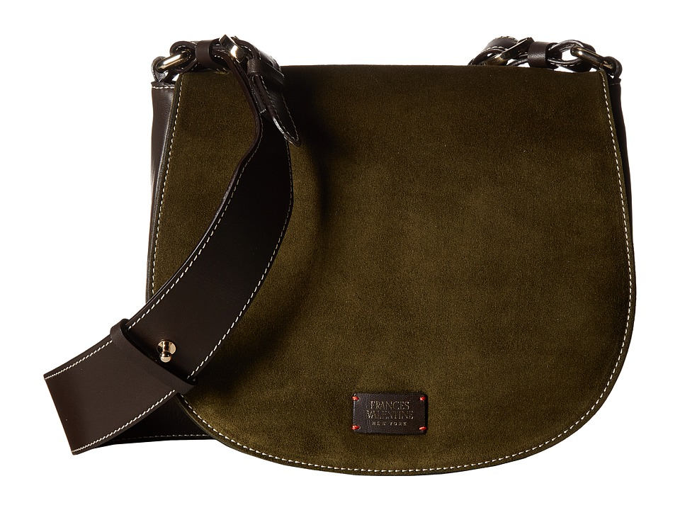 Frances Valentine - Small Ellen Bag (Olive) Handbags