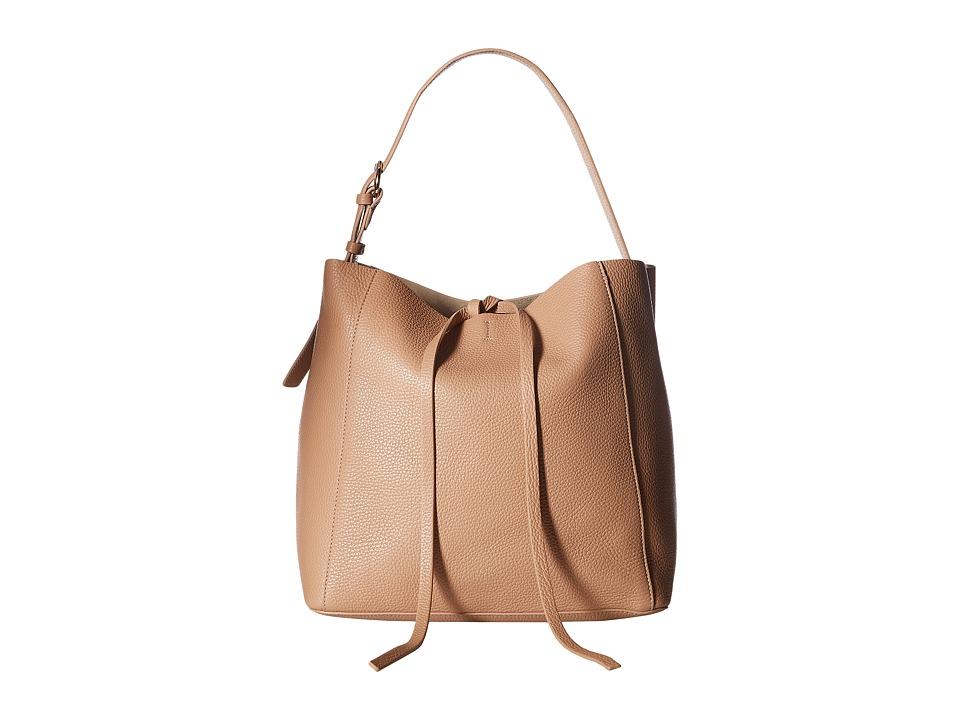 Frances Valentine - Medium June Bag (Camel) Handbags