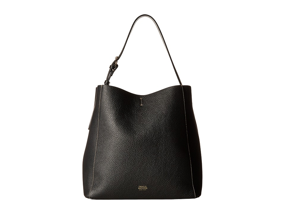 Frances Valentine - Medium June Bag (Black) Handbags
