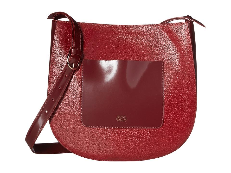 Frances Valentine - Large Ellen Bag (Red) Handbags