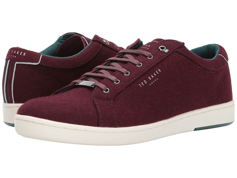 Ted Baker Minem 3 (Dark Red Textile) Men