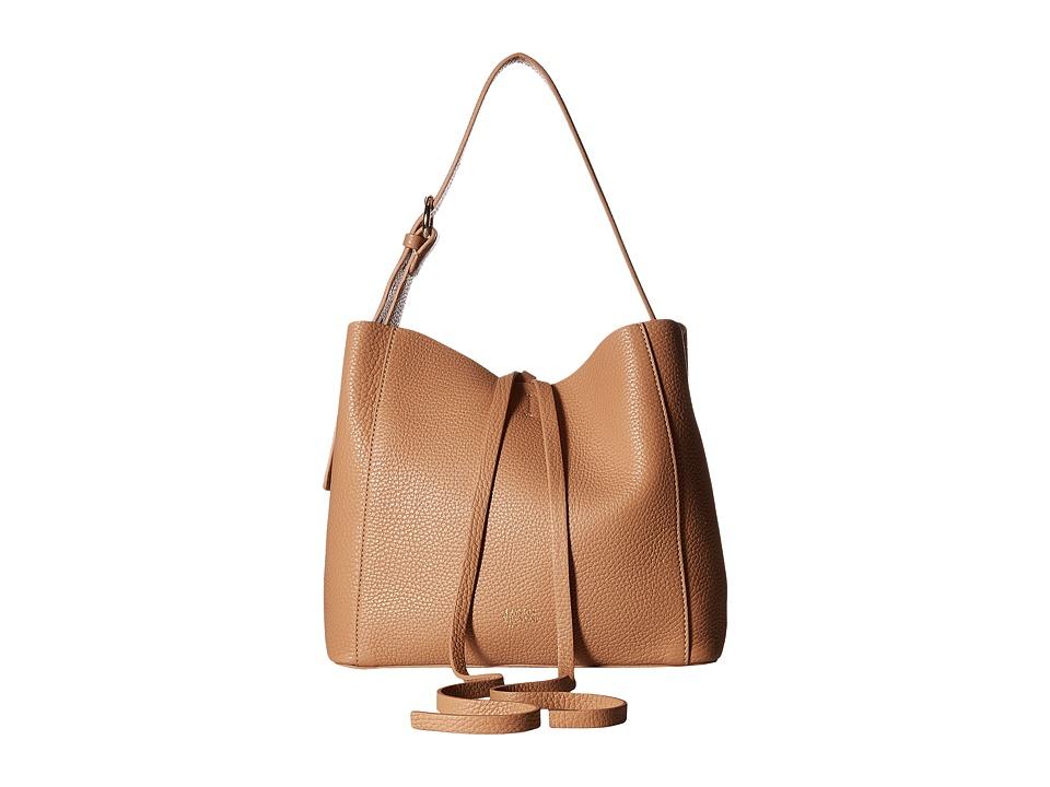 Frances Valentine - Small June Bag (Camel) Handbags