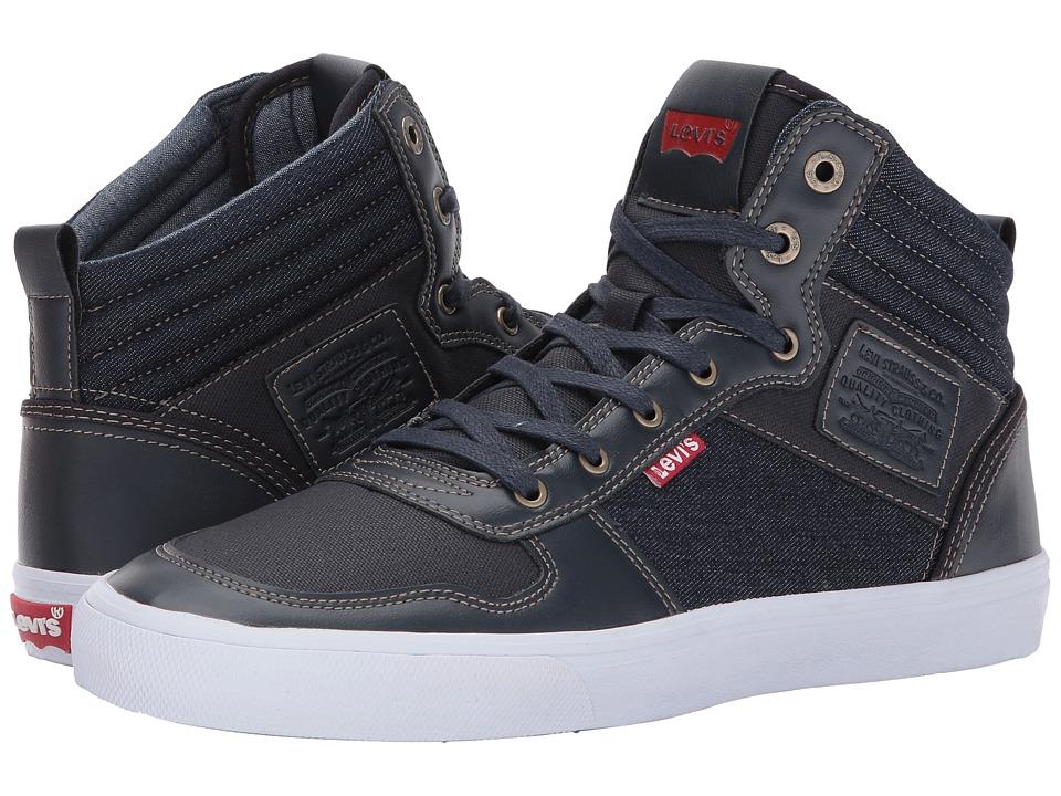 Levi's(r) Shoes - Wilshire Denim (Navy) Boys Shoes