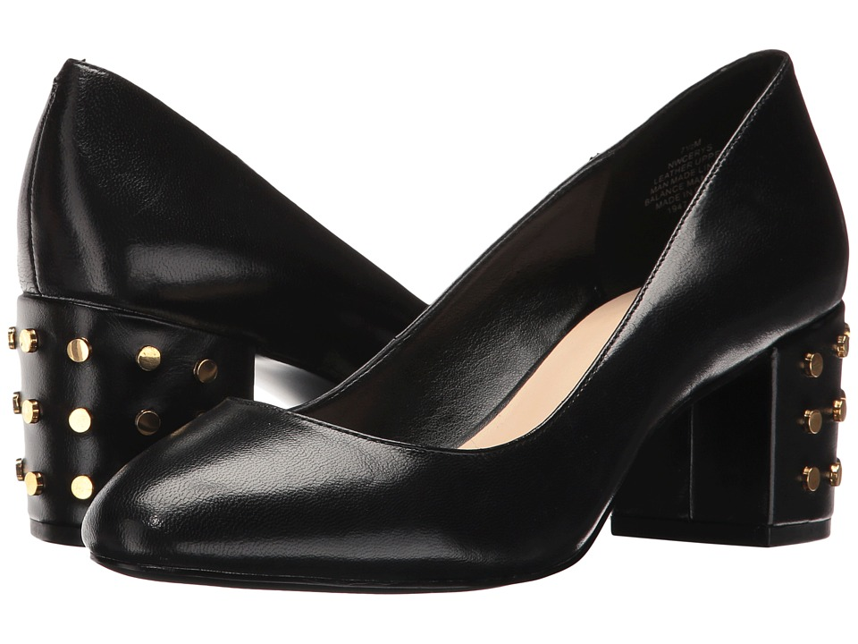 Nine West - Cerys (Black Leather) Women's Shoes