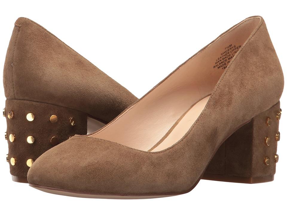Nine West - Cerys (Green Suede) Women's Shoes