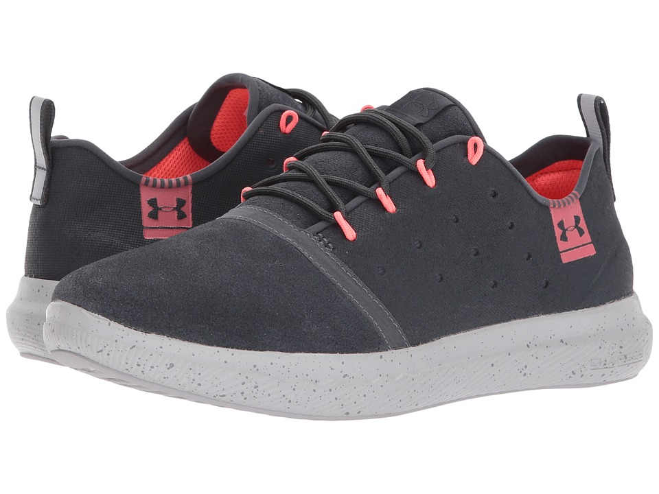 Under Armour - UA Charged 24/7 Low Suede (Stealth Gray/Aluminum/Stealth Gray) Women's Shoes