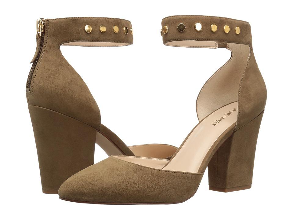 Nine West - Sharmain (Green Suede) High Heels
