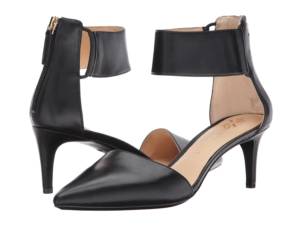 Nine West - Spring9x9 (Black Leather) Women's Shoes