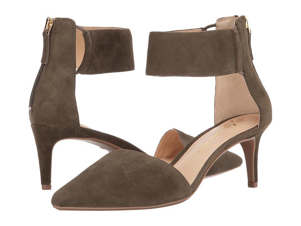 Nine West - Spring9x9 (Dark Green Suede) Women's Shoes