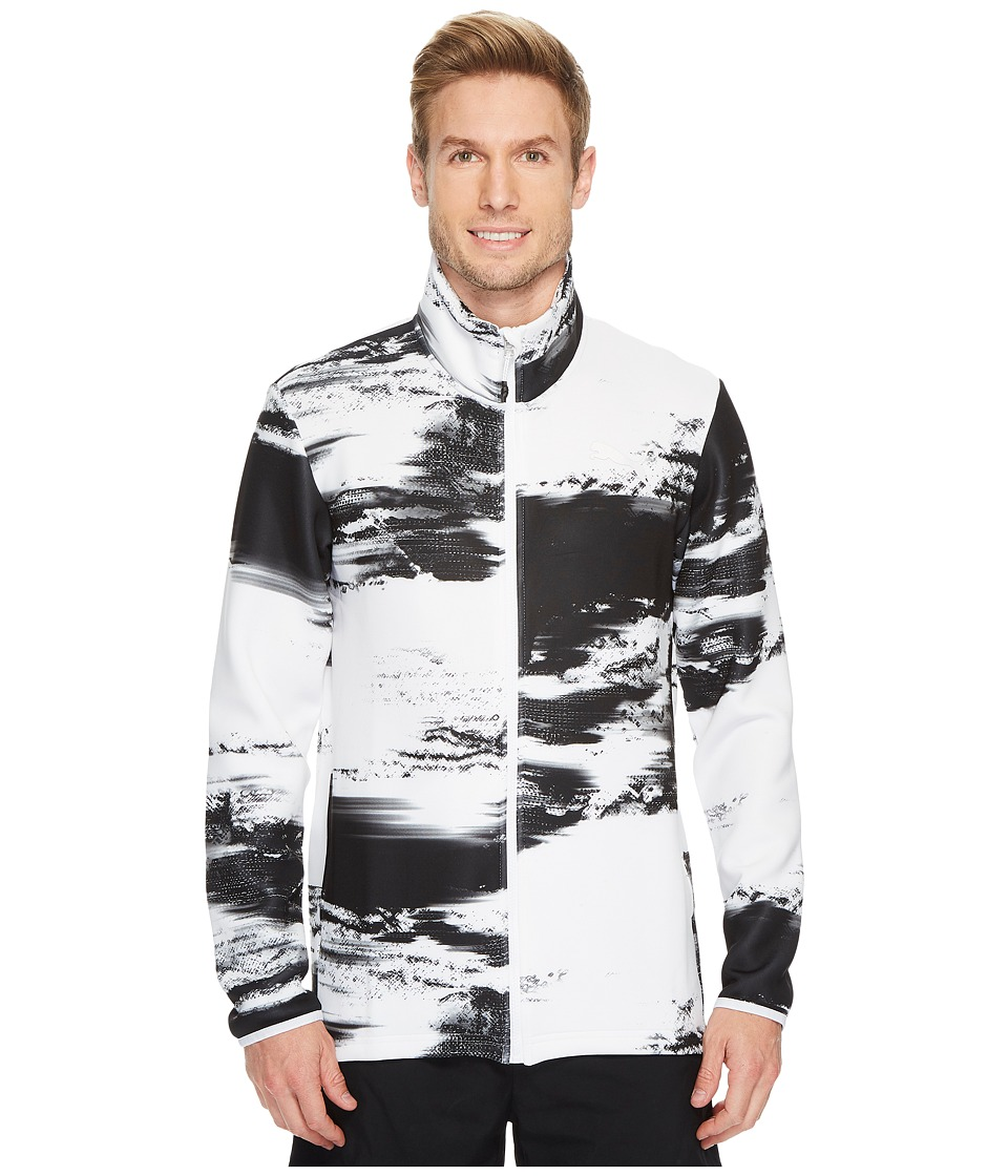 PUMA - Nocturnal Energy Full Zip (PUMA White Graphic) Men's Coat
