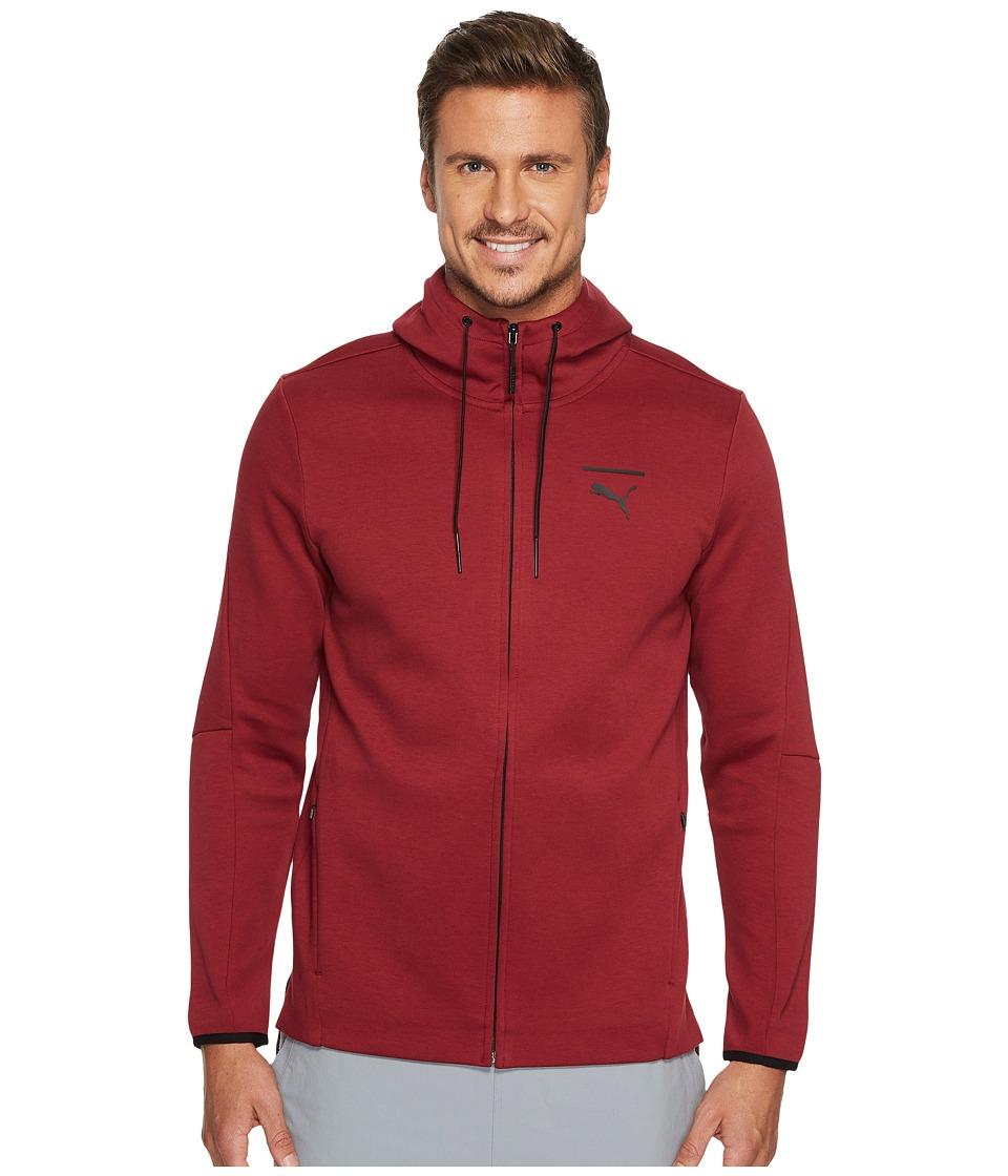 PUMA - Evo Core Full Zip Hoodie (PUMA Black) Men's Sweatshirt
