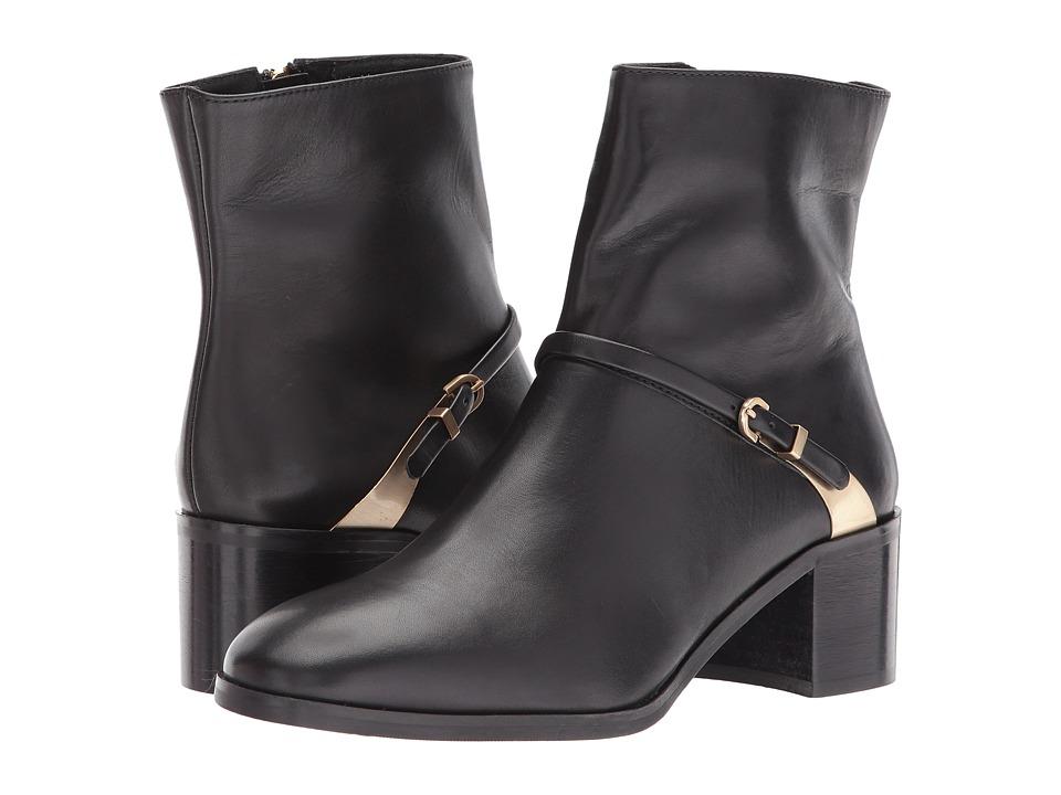 L.K. Bennett Hollie (Black Calf Leather) Women
