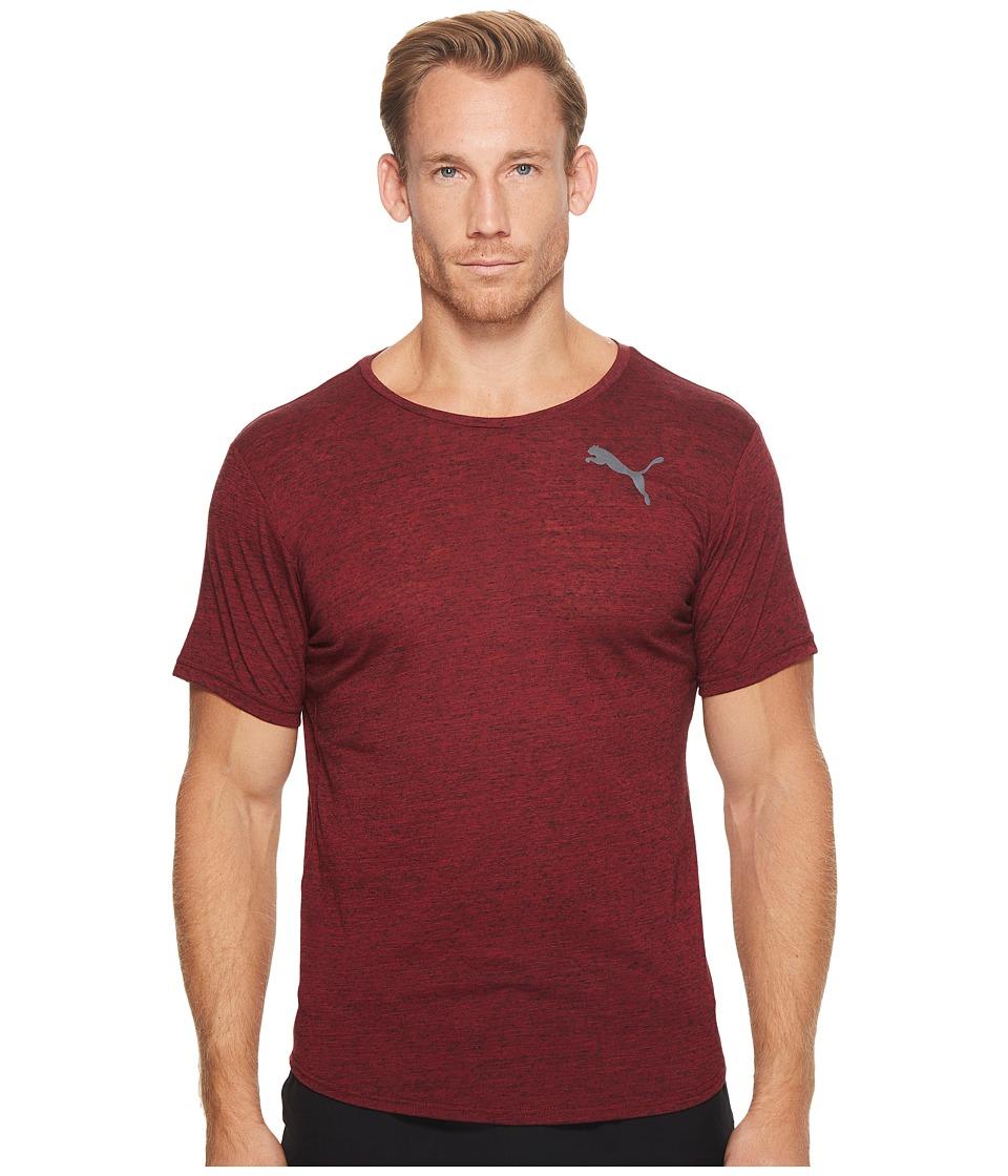 PUMA - Dri-Release Novelty Tee (Tibetan Red Heather) Men's T Shirt