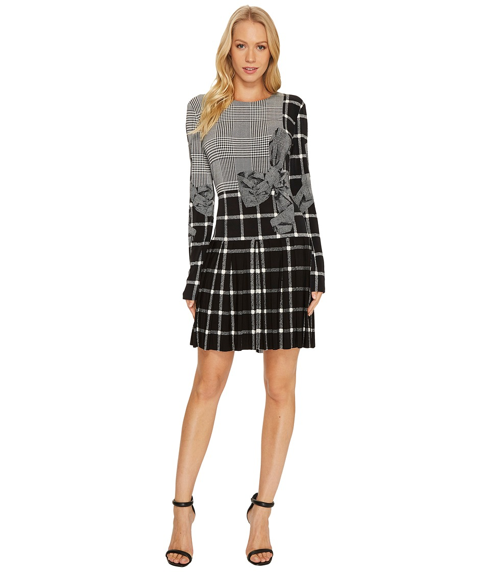 KAMALIKULTURE by Norma Kamali Long Sleeve Pleated Mini Dress