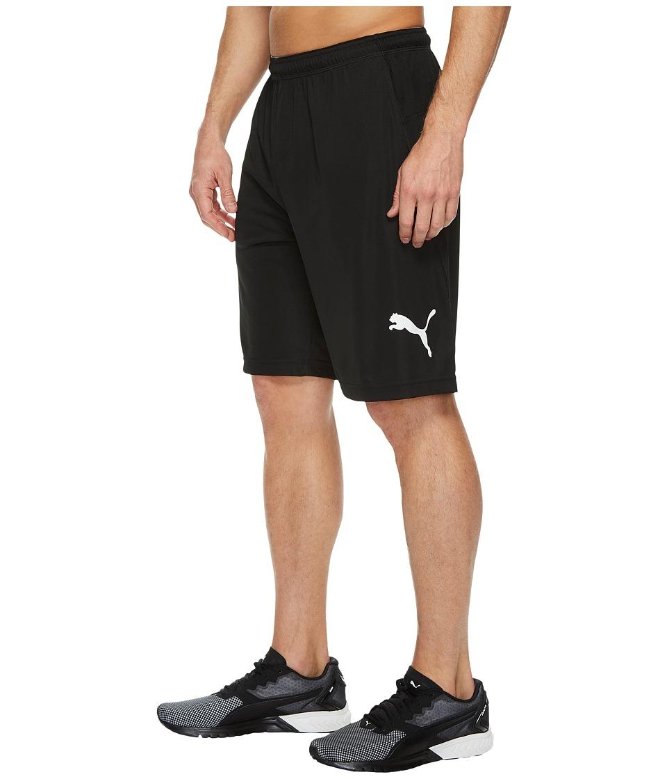 PUMA - Energy Training 9 Shorts (PUMA Black/White) Men's Shorts