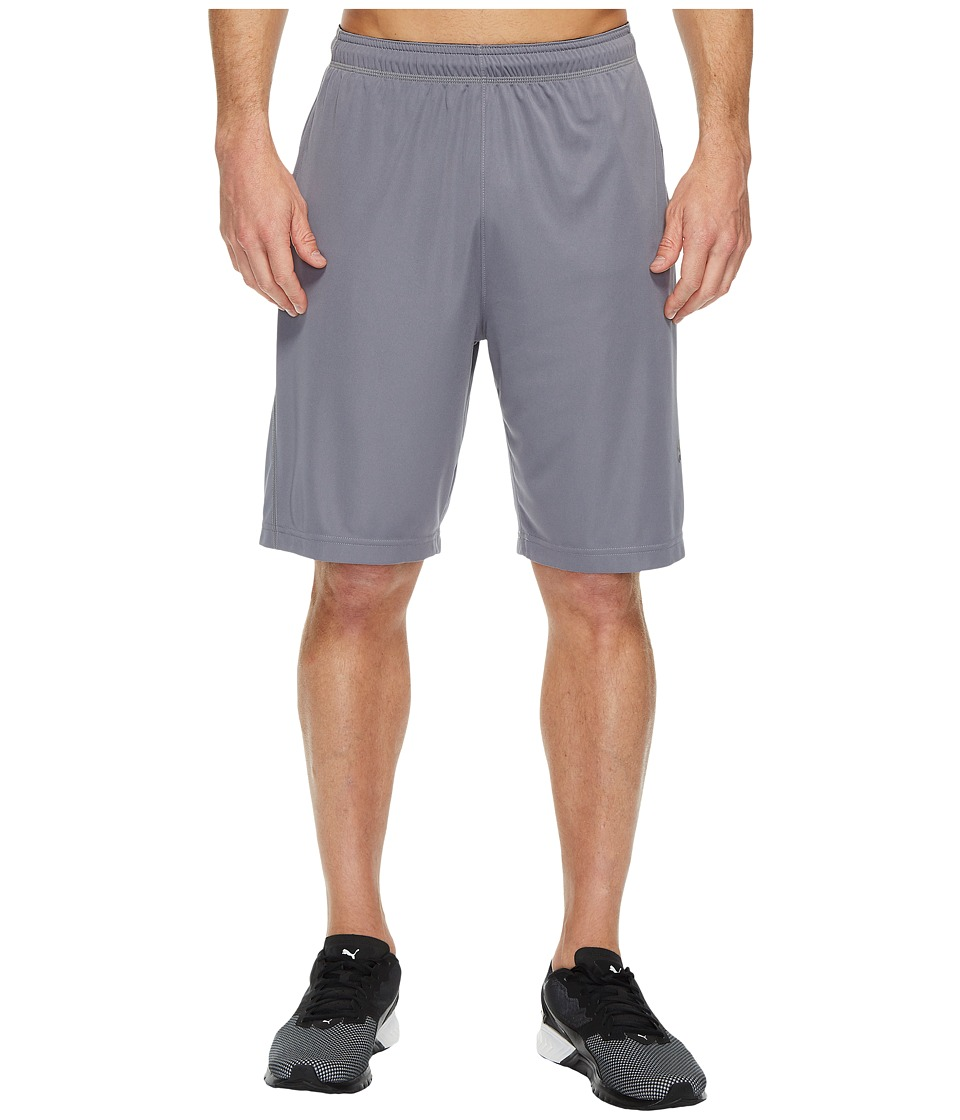 PUMA - Energy Training 9 Shorts (Quiet Shade/Black) Men's Shorts