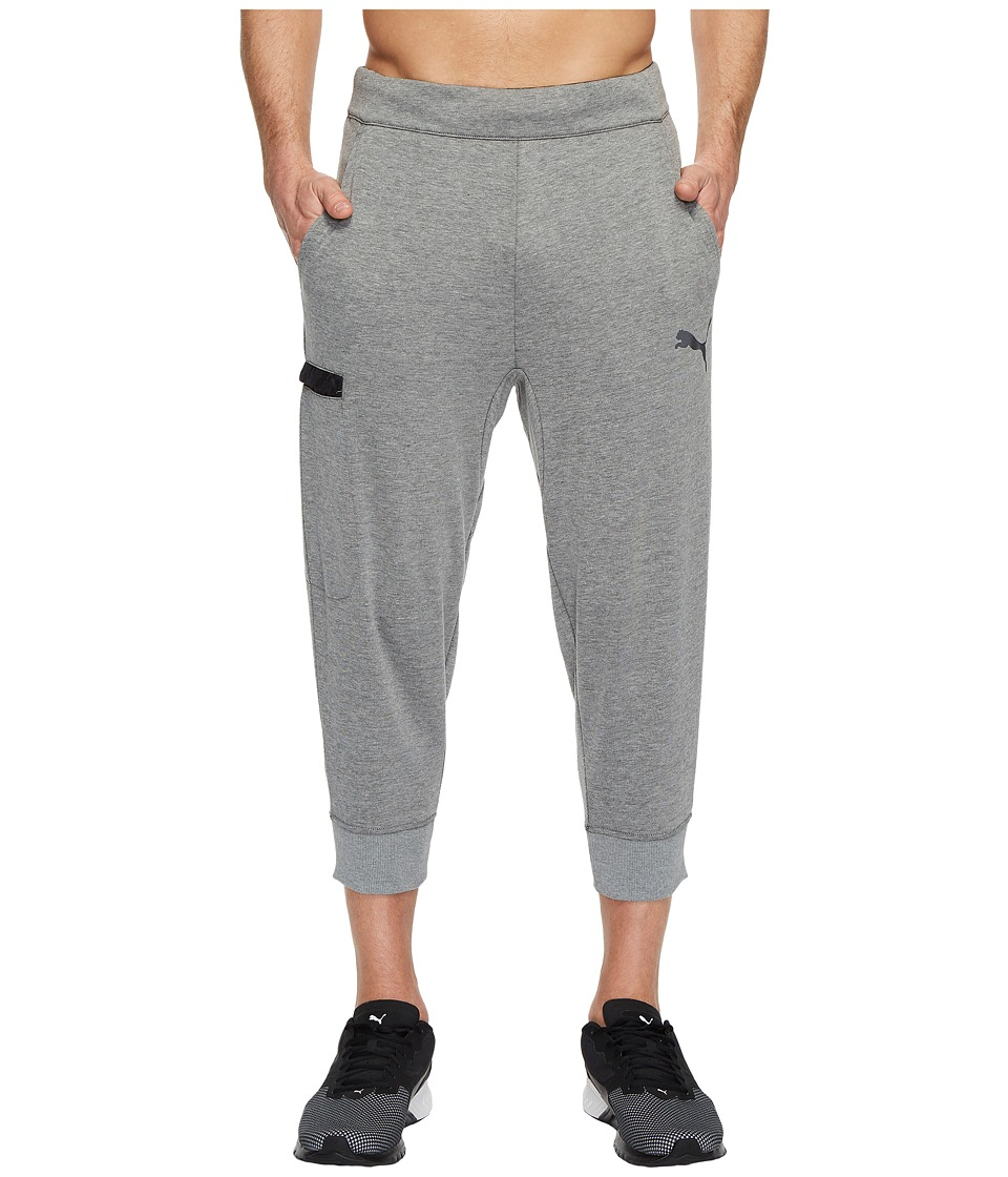 PUMA Energy Training 3/4 Pants (Medium Grey Heather) Men