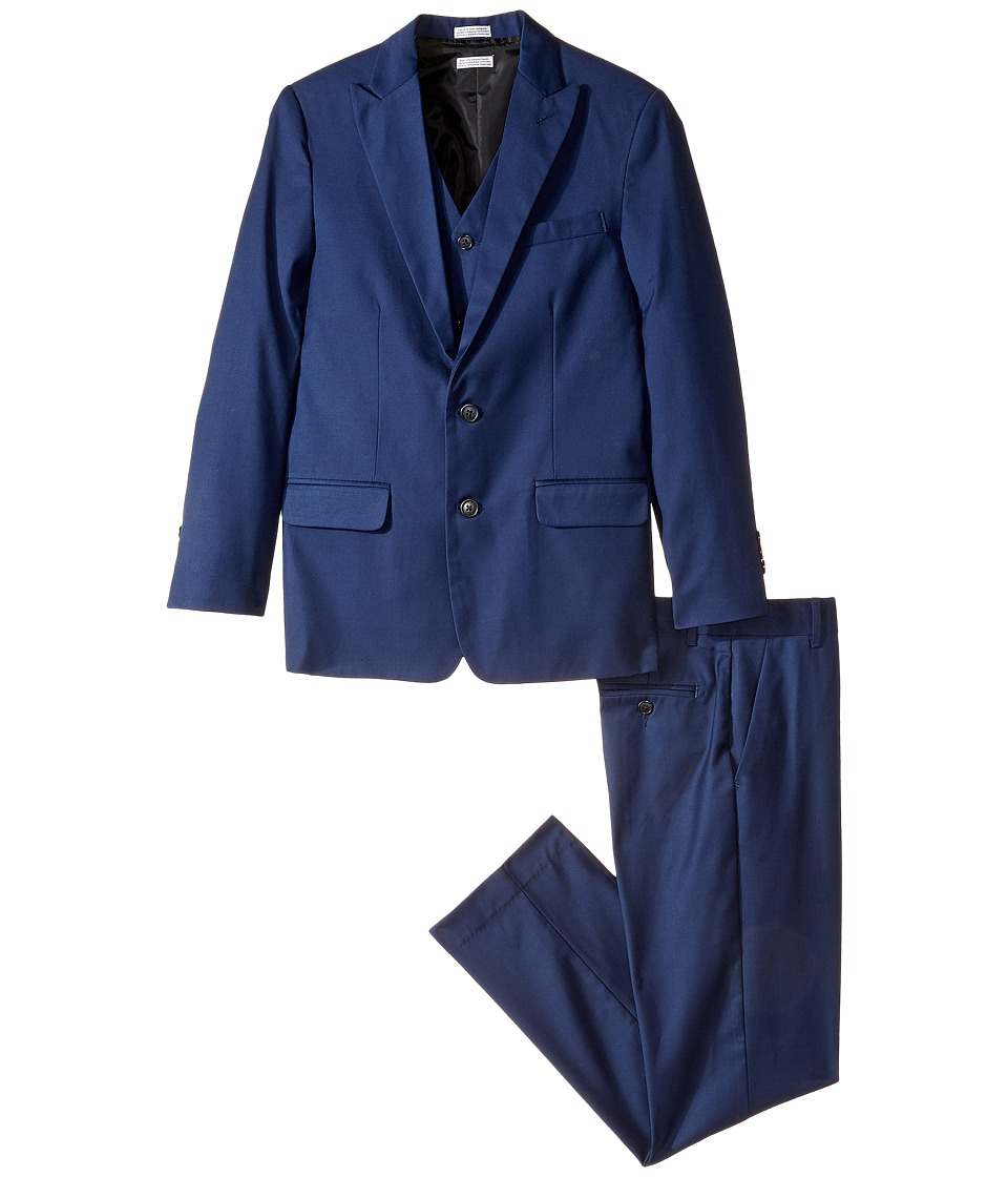 Calvin Klein Kids - Infinite Suit (Big Kids) (Bright Blue) Boy's Suits Sets