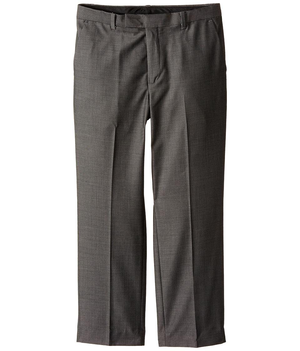 Calvin Klein Kids - Birdseye Husky Pants (Big Kids) (Black) Boy's Clothing