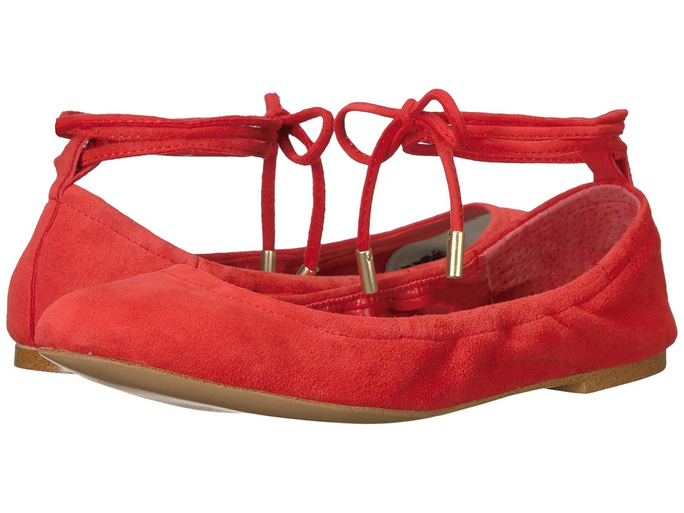 1.STATE - Skkylar (Persimmon Lux Kid Suede) Women's Flat Shoes