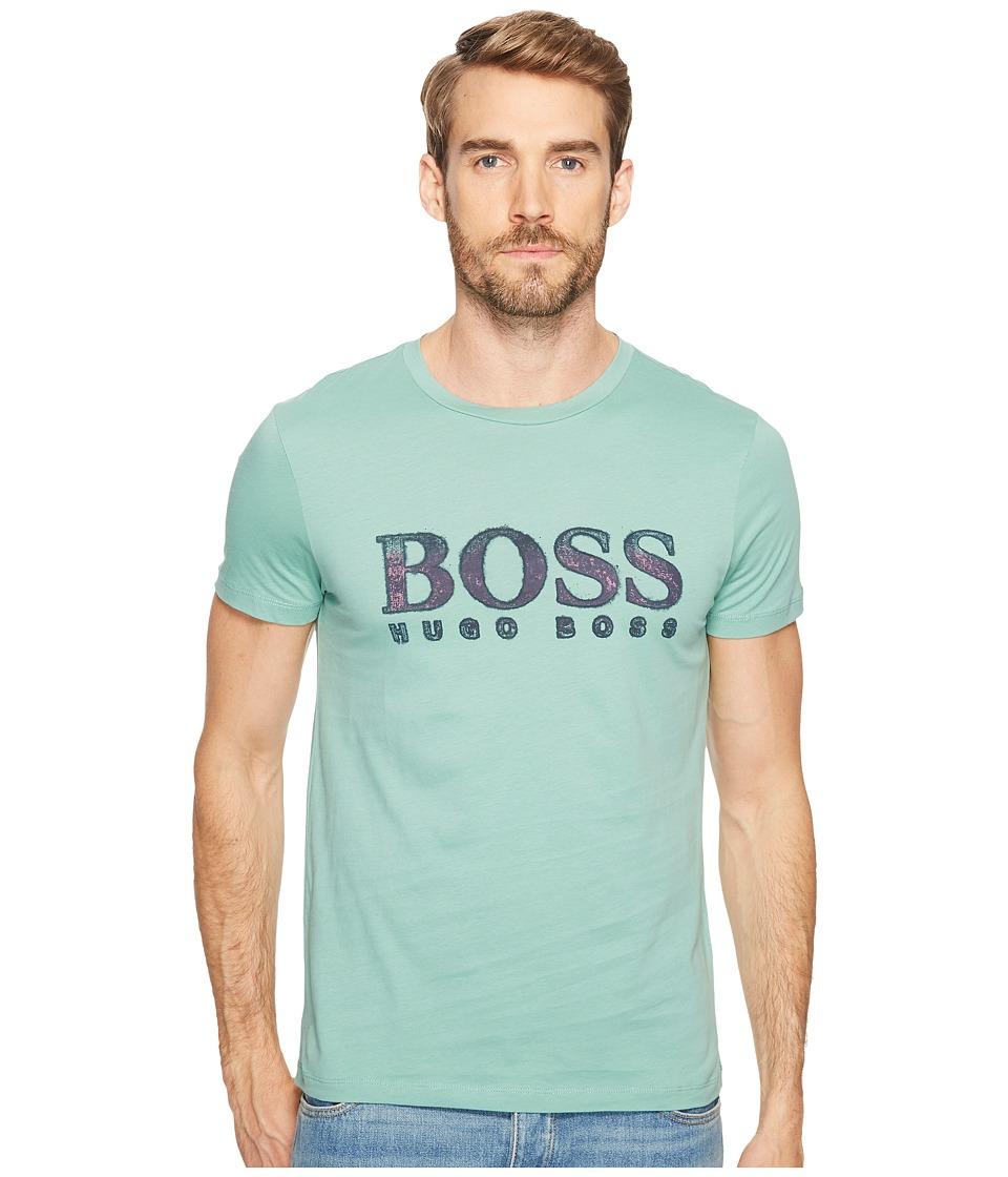 BOSS Orange - Turbulence 2 T-Shirt (Navy) Men's T Shirt