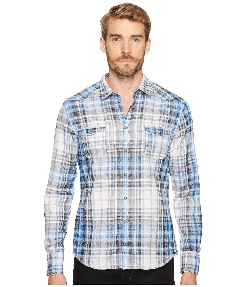 BOSS Orange - Erodeo Shirt (Blue) Men's Clothing