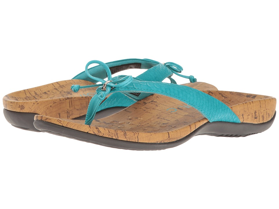 VIONIC - Cassie (Teal Snake) Women's Shoes