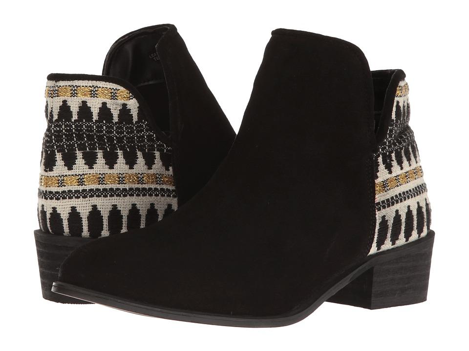 Steve Madden Arley Black Suede Boots